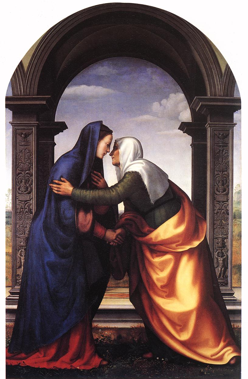 Marys Visitation To Elizabeth Ignited An Explosion Of Amazing