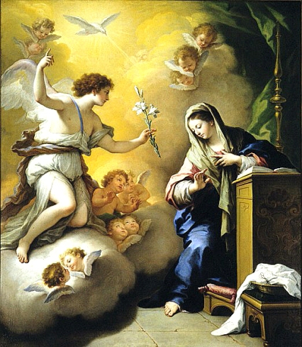 Paolo_de_Matteis_-_The_Annunciation