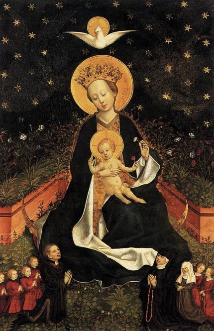 15th-century_unknown_painters_-_madonna_on_a_crescent_moon_in_hortus_conclusus_-_wga23736-1