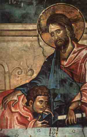 damiane-_jesus_christ_and_st-_john_the_apostle