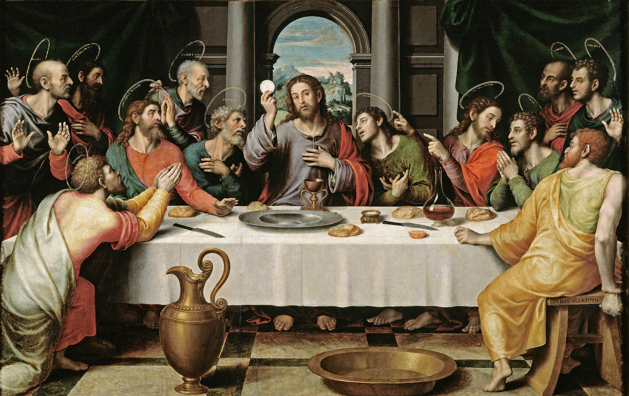 judas iscariot rejected the holy eucharist catholic strength